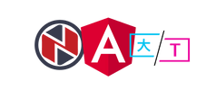 Logo Angular ngx-translate for machine translation